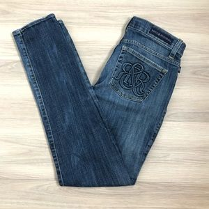 Rock & Republic skinny jeans, size 6M